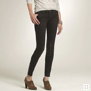 J.Crew Toothpick Riding Pant in Black